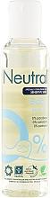 Perfumería y cosmética Aceite corporal hipoalergénico con ácido cítrico sin parabenos y colorantes - Neutral Baby Skin Oil