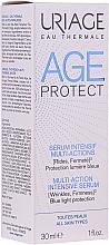 Perfumería y cosmética Sérum facial intensivo protector de luz azul con agua termal de Uriage y ácido hialurónico - Uriage Age Protect Multi-Action Intensive Serum