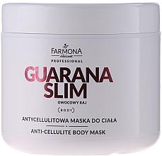 Perfumería y cosmética Mascarilla corporal anticelulitis con extracto de jengibre y manteca de karité - Farmona Mask