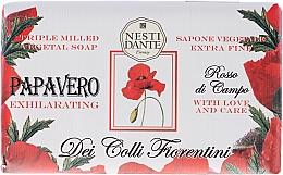 Perfumería y cosmética Jabón vegetal con amapola roja - Nesti Dante Dei Colli Fiorentini Soap