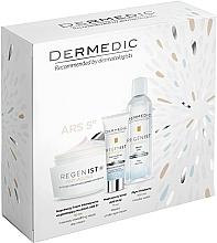 Perfumería y cosmética Set facial - Dermedic Regenist Anti-Ageing Ars 5 (crema/50ml + crema contorno de ojos/7ml + agua micelar/100ml)