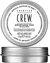 Perfumería y cosmética Cera para bigote con fijación fuerte - American Crew Official Supplier to Men Moustache Wax Strong Hold