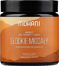 Perfumería y cosmética Manteca de almendras dulces para rostro y cuerpo - Mohani Almond Rich Butter