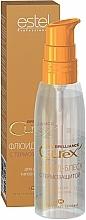 Perfumería y cosmética Fluido-brillo para cabello con protección térmica - Estel Professional Curex Brilliance Fluid