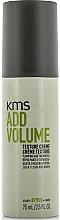 Perfumería y cosmética Crema capilar texturizante para volumen - KMS California Addvolume Texture Creme