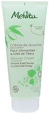 Perfumería y cosmética Crema de ducha con extracto de almendra dulce y miel - Melvita Shower Almond & Lime Tree Honey