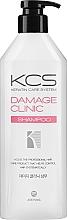 Perfumería y cosmética Champú regenerador con ceramidas, aceite de argán y jojoba - KCS Demage Clinic Shampoo