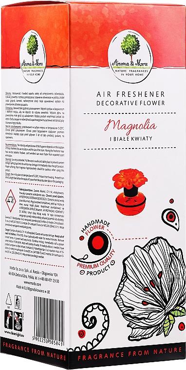 Difusor decorativo con aroma a magnolia y flores blancas - Aroma & More Air Freshener