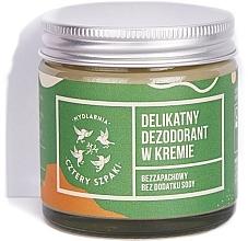 Perfumería y cosmética Desodorante en crema sin fragancia ni soda bicarbonato - Cztery Szpaki