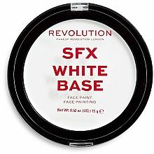 Perfumería y cosmética Base de maquillaje blanqueadora polvos - Makeup Revolution Halloween SFX White Cream Face Base