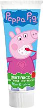 Perfumería y cosmética Pasta de dientes para niños con flúor y calcio, sabor a fresa - Lorenay Peppa Pig Toothpaste