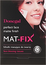 Perfumería y cosmética Toallitas secantes faciales matificantes - Donegal Face Blotting Tissues Mat-Fix