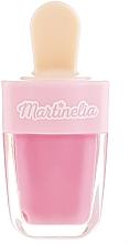 Perfumería y cosmética Brillo labial hidratante en forma de helado, sabor fresa, rosa - Martinelia