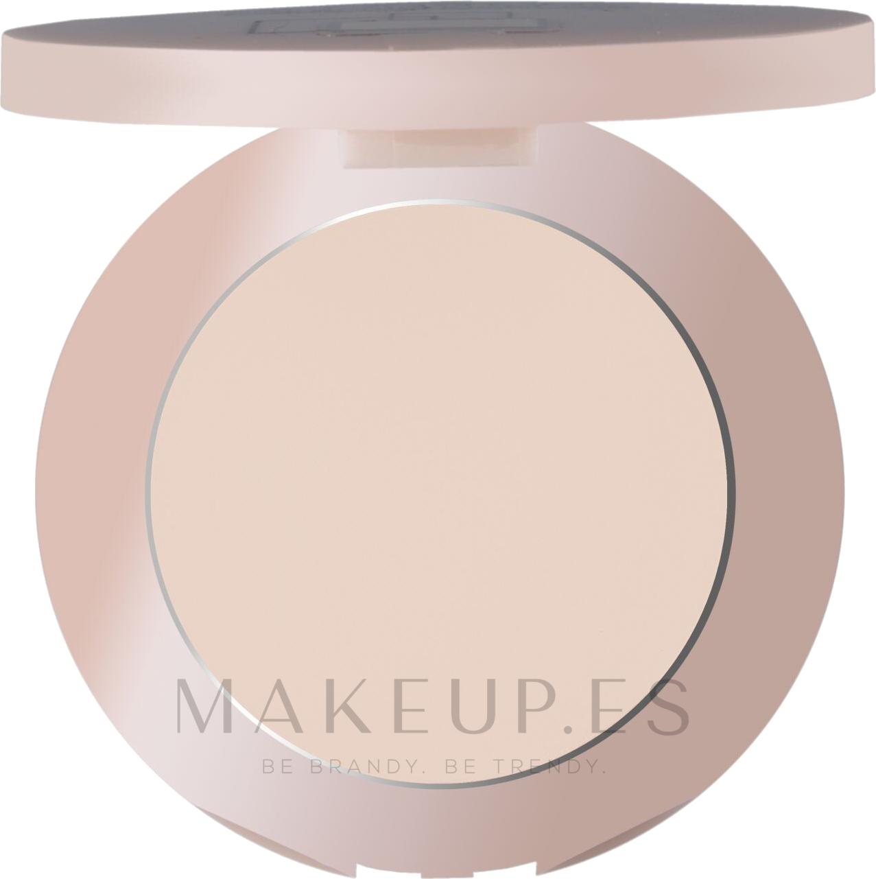 Polvo facial compacto - Maybelline Affinitone Powder — imagen 03 - Beige claro