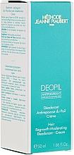 Perfumería y cosmética Crema antitranspirane reguladora del crecimiento del vello - Methode Jeanne Piaubert Deopil Creme Alcohol-Free Antiperspirant