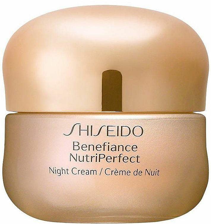 Crema de noche con ácido cítrico - Shiseido Benefiance NutriPerfect Night Cream  — imagen N1