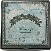 Perfumería y cosmética Set de regalo con jabones naturales de glicerina - Bulgarian Rose Aromatherapy Nature Soap