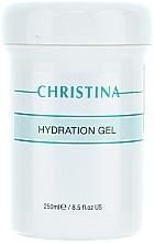 Perfumería y cosmética Gel facial de aloe vera con extracto de pétalos rosa moqueta - Christina Hydration Gel