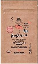 Perfumería y cosmética Polvo de alumbre potásico para piesl, manos y cuerpo - Floslek Balerina Potassium Alum Powder For Foot, Hand And Body