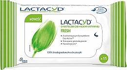 Perfumería y cosmética Toallitas húmedas íntimas - Lactacyd Fresh Intimate Wipes