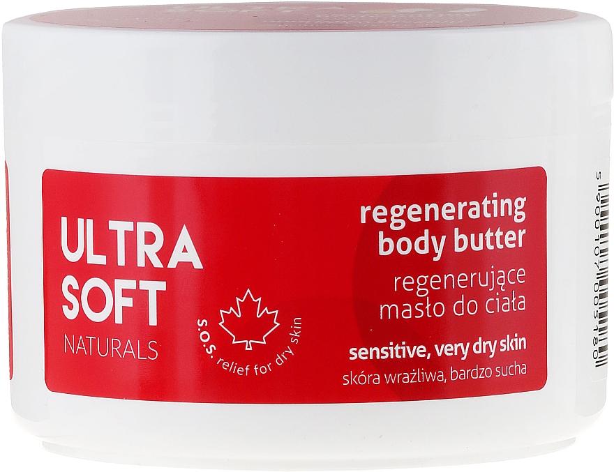 Manteca corporal regeneradora con extracto de frambuesa, pieles secas y sensibles - Tolpa Ultra Soft Naturals Regenerating Body Butter