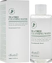 Perfumería y cosmética Agua de limpieza facial con aceite de árbol de té - Benton Tea Tree Cleansing Water