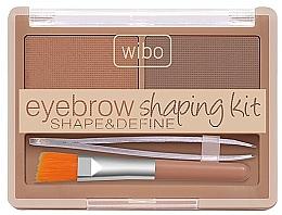 Perfumería y cosmética Wibo Eyebrow Shaping Kit - Set para cejas (gel de cejas/1ud. + pinza de depilar/1ud. + cepillo/1ud.)