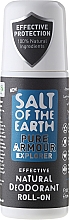 Perfumería y cosmética Desodorante roll-on orgánico - Salt of the Earth Pure Armour Explore Roll-On Deo