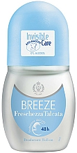 Perfumería y cosmética Breeze Roll-On Deo Freschezza Talcata - Desodorante roll-on sin alcohol
