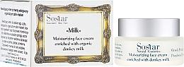 Perfumería y cosmética Crema facial con leche de burra - Sostar Moisturizing Face Cream Enriched With Donkey Milk