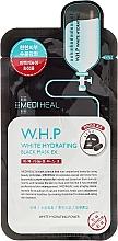 Perfumería y cosmética Mascarilla facial negra hidratante con carbón activo - Mediheal W.H.P White Hydrating Black Mask Ex
