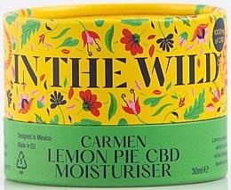 Perfumería y cosmética Crema facial hidratante con extracto de limón y CBD - In The Wild Carmen Lemon Pie CBD Moisturiser