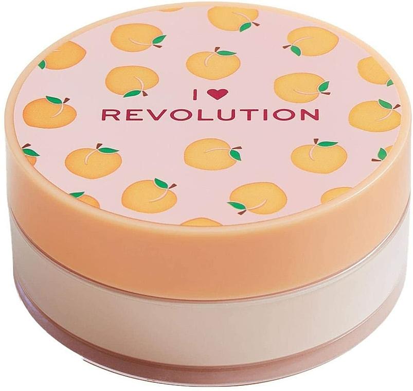 Polvo suelto de maquillaje cocido, aroma a melocotón - I Heart Revolution Loose Baking Powder Peach
