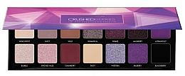 Perfumería y cosmética Paleta de sombras de ojos, 14 colores - Boys'n Berries Eyeshadow Palette