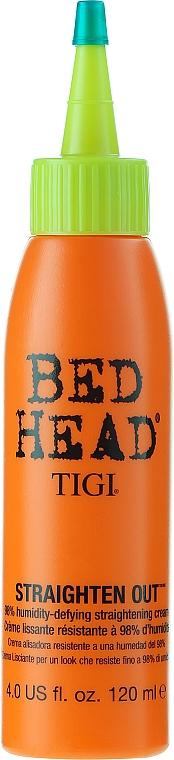 Crema alisadora de cabello con queratina - Tigi Bed Head Straighten Out Straightening Cream