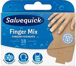 Perfumería y cosmética Tiritas resistentes al agua, mix - Salvequick Finger Mix
