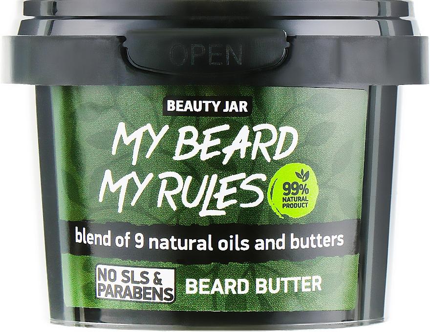 Manteca natural para barba con karité, cacao y aceite de babasú - Beauty Jar My Beard My Rules Beard Butter