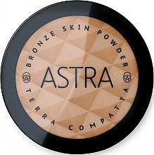 Perfumería y cosmética Polvo bronceador facial compacto - Astra Make-Up Bronze Skin Powder