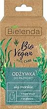Perfumería y cosmética Acondicionador para uñas con algas marinas - Bielenda Bio Vegan Nail Care Sea Algae
