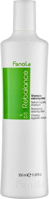 Champú con ácido cítrico y proteínas de trigo - Fanola Rebalance Anti-Grease Shampoo