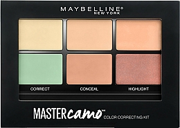 Perfumería y cosmética Paleta de correctores - Maybelline Master Camo Color Correcting Concealer Kit