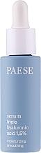 Perfumería y cosmética Sérum facial con tres tipos de ácido hialurónico - Paese Serum