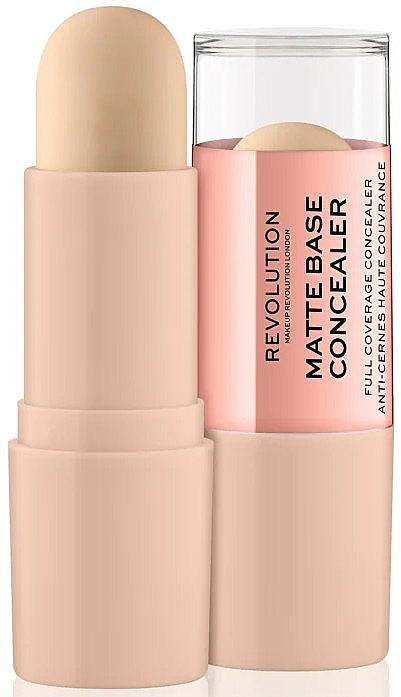 Corrector de maquillaje matificante en barra - Makeup Revolution Matte Base Concealer