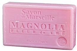 Perfumería y cosmética Jabón artesanal con aroma a magnolia y pétalos de árbol de té - Le Chatelard 1802 Soap Magnolia and Tea Flowers