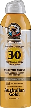 Perfumería y cosmética Spray protector solar con té verde SPF 30 - Australian Gold Premium Coverage Spf30