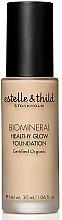 Perfumería y cosmética Base de maquillaje orgánica hidratante con aloe vera - Estelle & Thild BioMineral Healthy Glow Foundation