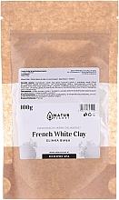 Perfumería y cosmética Mascarilla facial nutritiva y calmante con arcilla blanca francesa - Natur Planet French White Clay