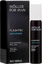 Crema roll-on antifatiga para contorno de ojos con ácido hialurónico - Anne Moller Pour Homme Eye Contour Roll-On — imagen N1