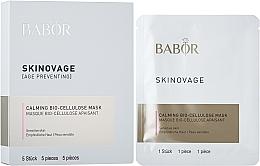 Perfumería y cosmética Mascarilla calmante de biocelulosa para pieles sensibles - Babor Skinovage Calming Bio-Cellulose Mask