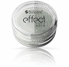 Perfumería y cosmética Polvo para uñas - Silcare Effect Powder Holo